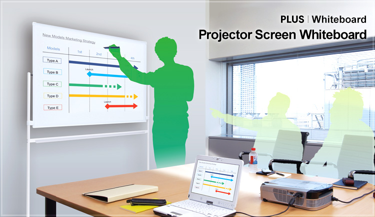 Projector Screen Whiteboard